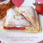 Strawberry and Cream Cheese Stuffed French Toast | NoBiggie.net