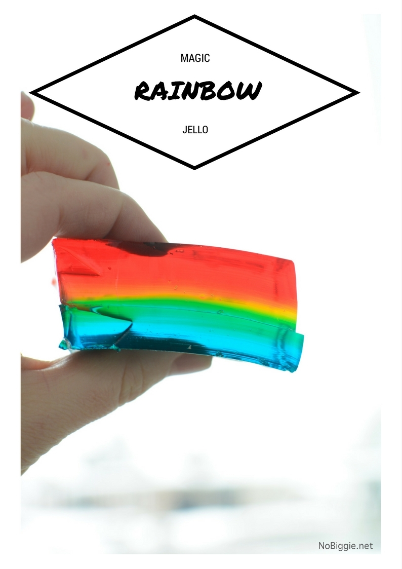 Magic Rainbow Jello Jigglers | NoBiggie.net
