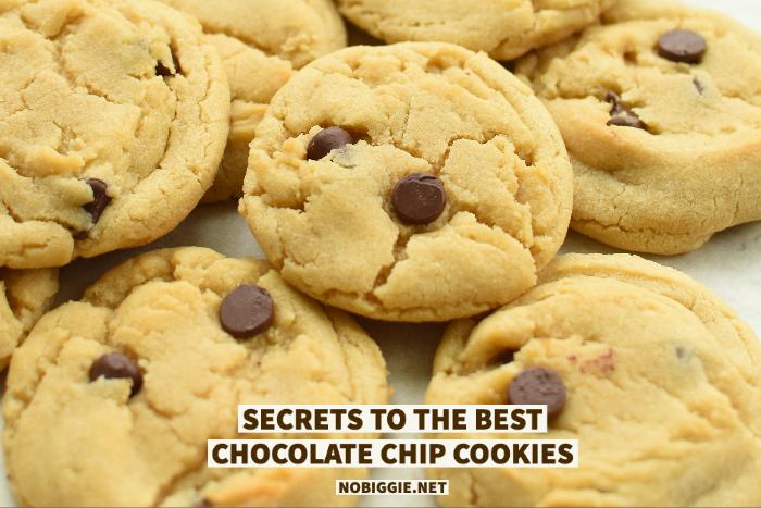 chocolate chip cookies | NoBiggie.net