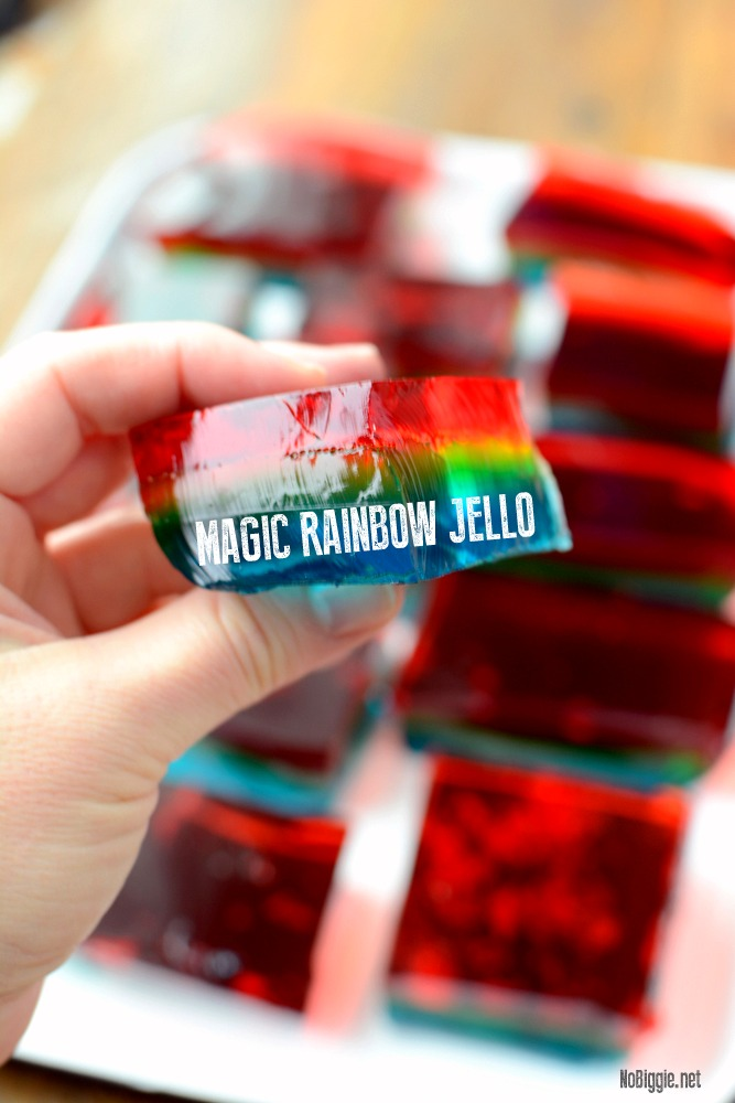 magic rainbow jello | NoBiggie.net