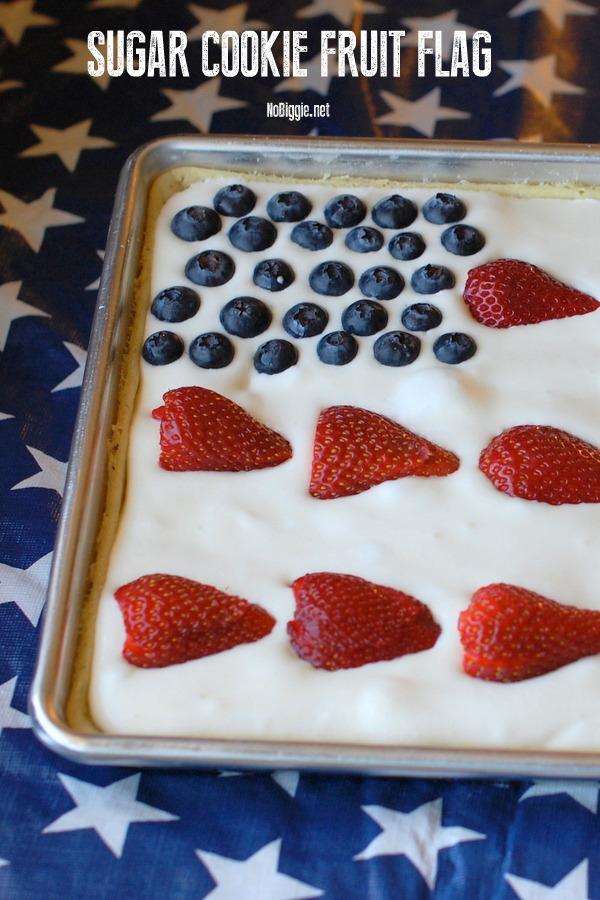 Sugar Cookie American Flag