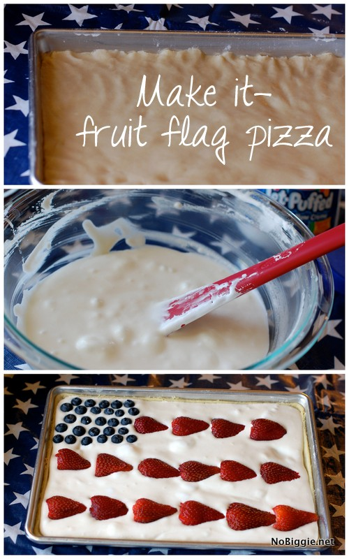 fruit flag pizza | NoBiggie.net