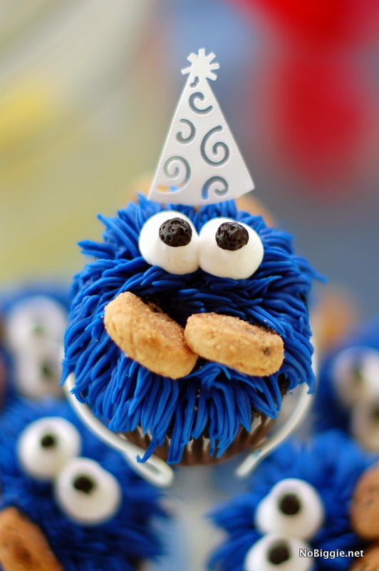 cookie monster cupcakes - NoBiggie.net