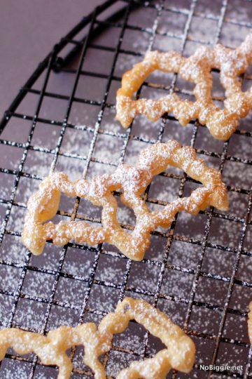 Halloween Rosette Cookies
