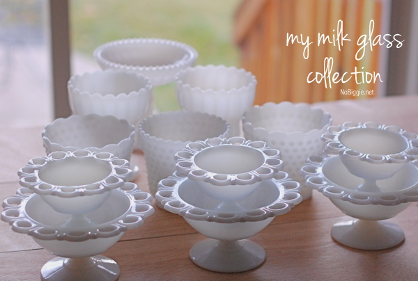 milk glass collection - NoBiggie.net