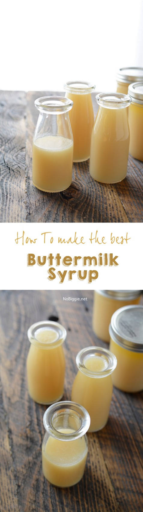 how to make the best buttermilk syrup | NoBiggie.net