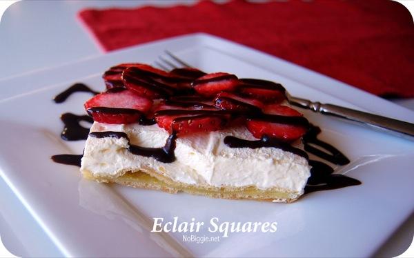 Eclair Squares…