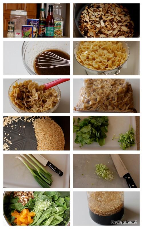 Asian Chicken pasta salad | NoBiggie.net
