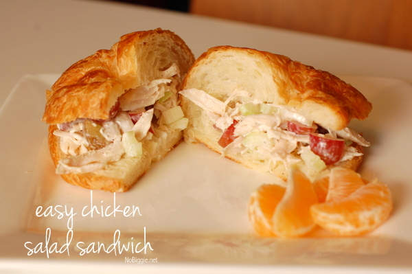 Chicken salad sandwich recipe - NoBiggie.net