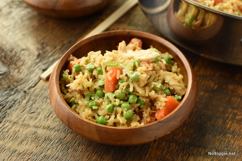 one pot chicken fried rice recipe
