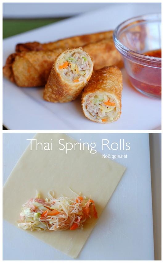 Thai Spring Rolls | NoBiggie.net