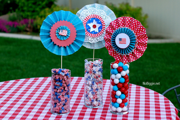 4th of July paper crafts via NoBiggie.net