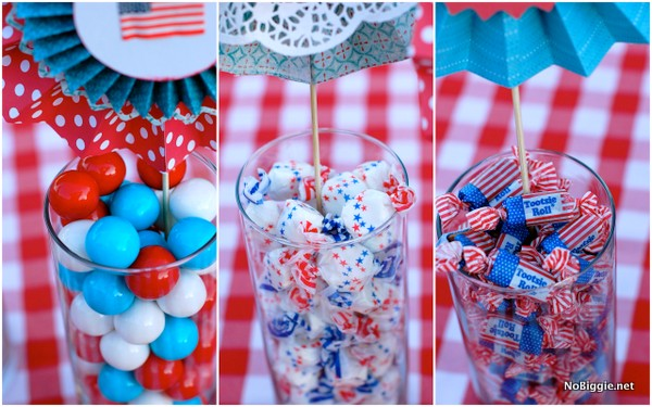 4th of July table decor and treats | NoBiggie.net