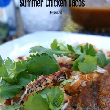 Summer Chicken Tacos