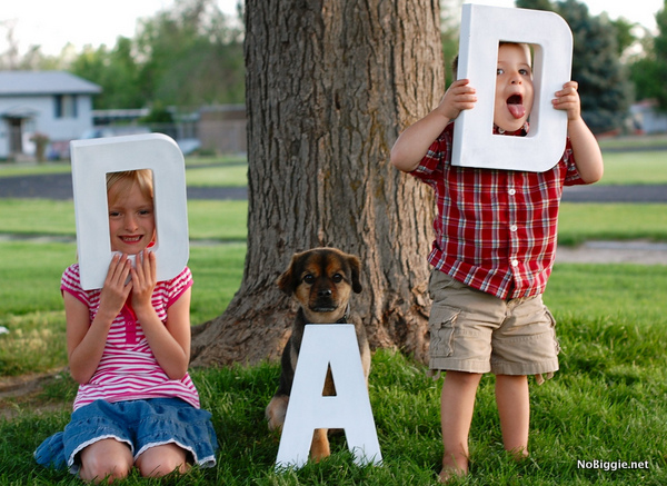 photo gift idea for Father's Day | NoBiggie.net