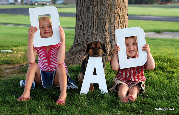 photo props for Father's Day | NoBiggie.net