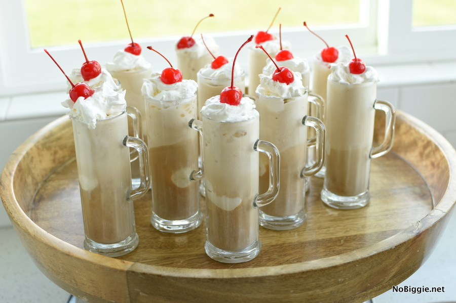 THE BEST root beer floats