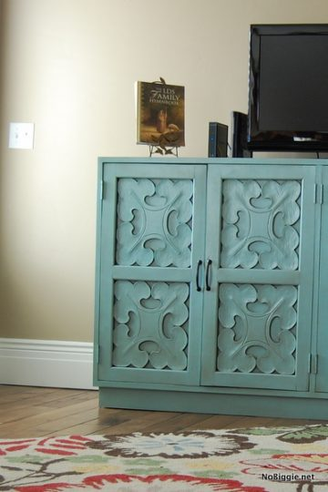 Thrifty Thursday: Credenza (before and AFTER)