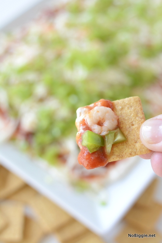 Shrimp Cocktail Dip - this looks amazing! | NoBiggie.net