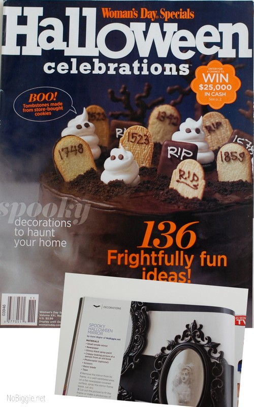 Woman's Day Halloween magazine feature 2011 | NoBiggie.net