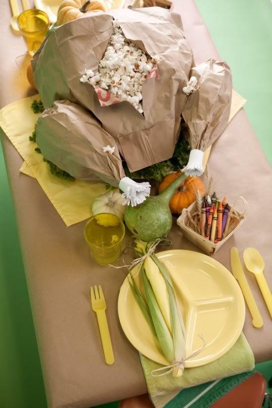 brown paper bag Thanksgiving Turkey