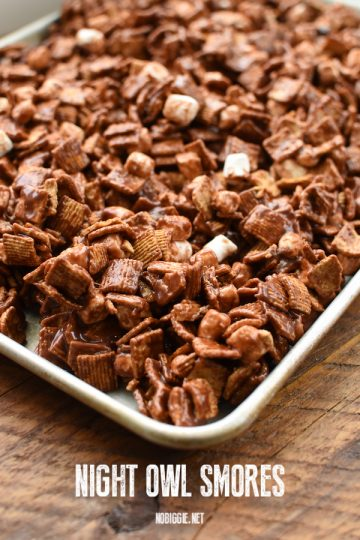 Night Owl S'mores Mix