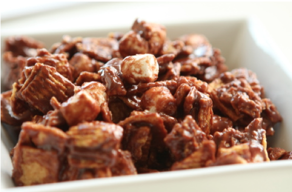 night owl smores snack mix