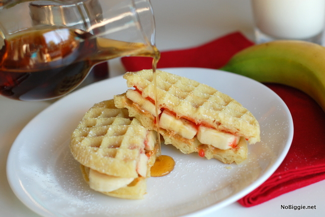 wafflewiches for breakfast | NoBiggie.net