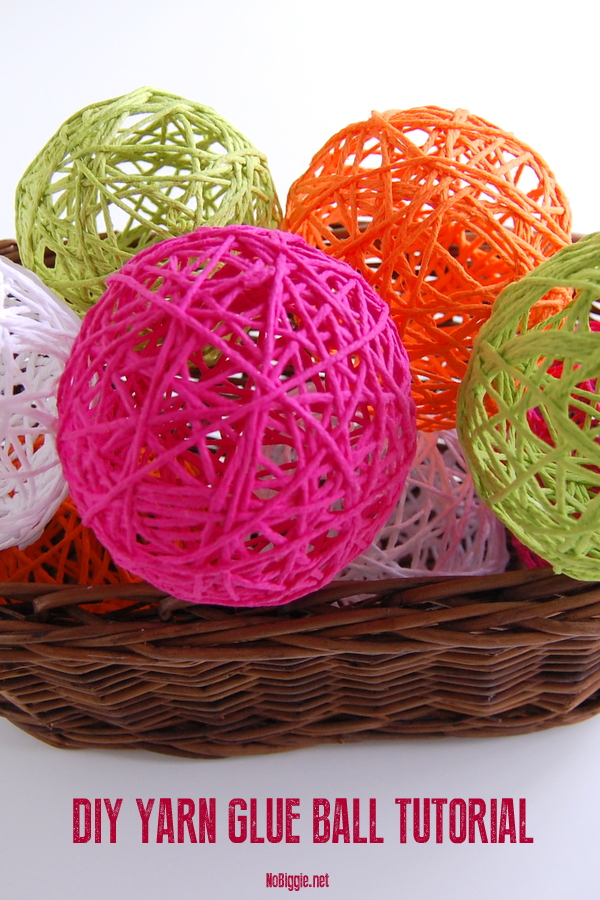 Glue Yarn Ball Tutorial