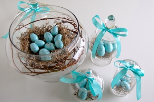DIY Spring Decor | a bird's nest