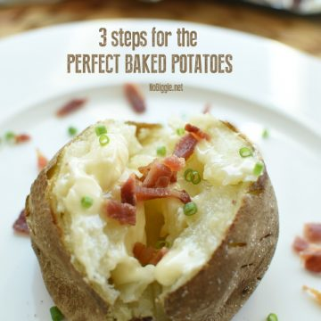 3 steps to the perfect baked potatoes