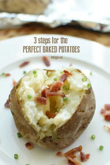 3 Steps to the Perfect Baked Potato