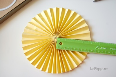 Make a paper medallion | NoBiggie.net