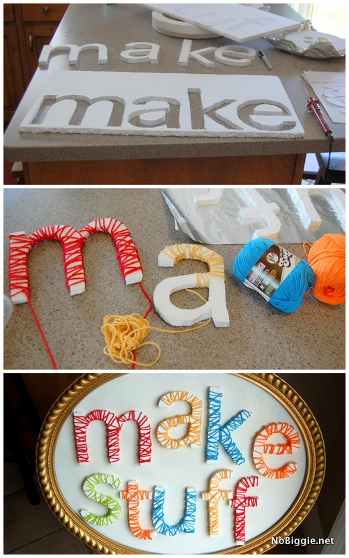 craft room decor | make stuff ! - NoBiggie.net
