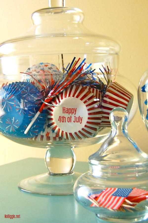 cupcake liner decor