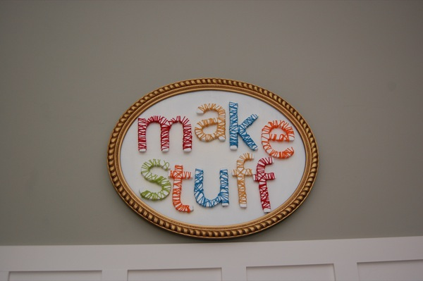 Craft Room Sign