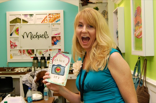 Michaels Craft Store blogger event