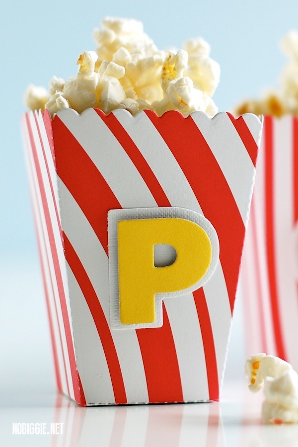 mini popcorn box | NoBiggie.net