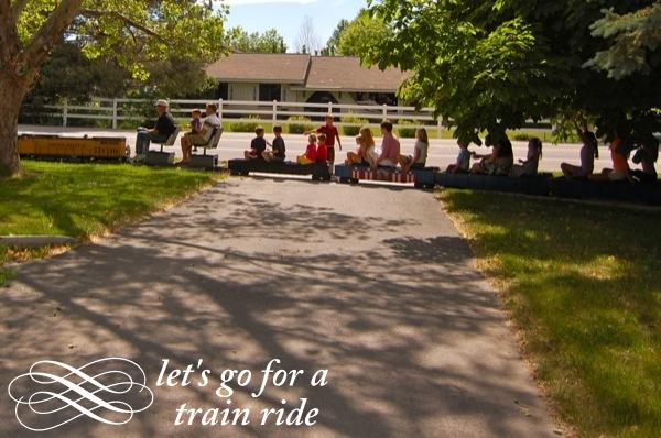 train birthday party