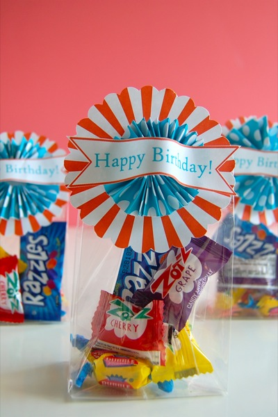 Happy Birthday gift topper and card (free printable) | NoBiggie.net