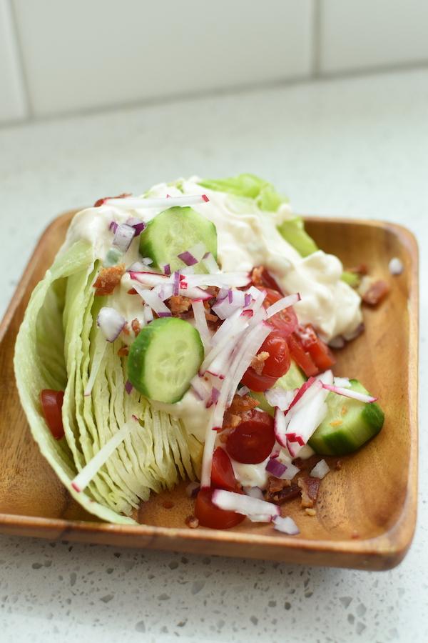 loaded wedge salad | NoBiggie.net