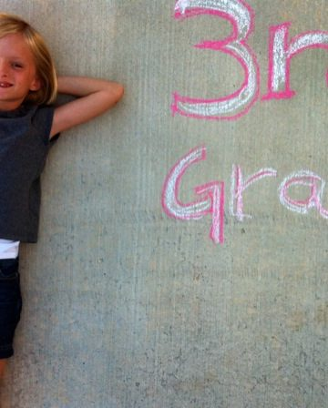 Look out 3rd Grade…cause here she comes!