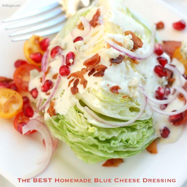 the best homemade blue cheese dressing | NoBiggie.net