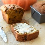 pumpkin bread mini loaf