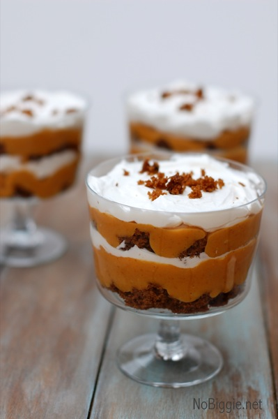 pumpkin gingerbread trifle recipe | NoBiggie.net