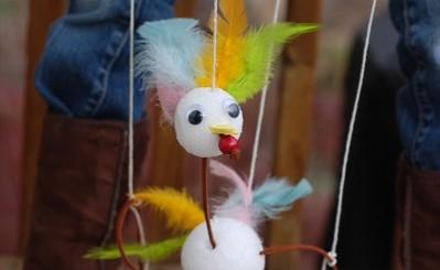 turkey marionette