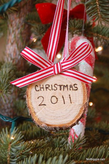 Christmas Tree Trunk Ornament