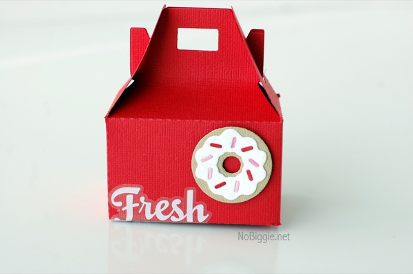 Valentine's Day donut box