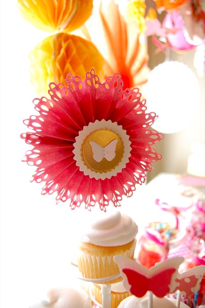butterfly party cupcake toppers 1