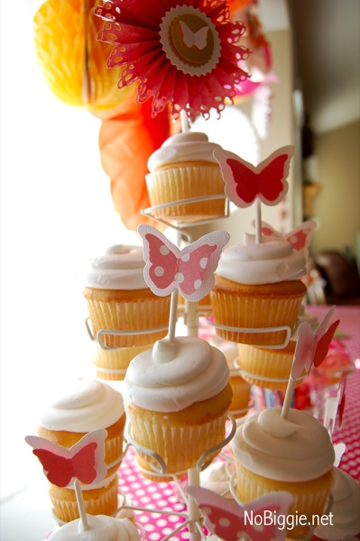 butterfly party cupcake toppers 2